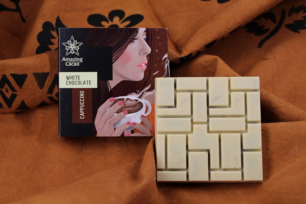 Our special bar White Chocolate & Cappuccino